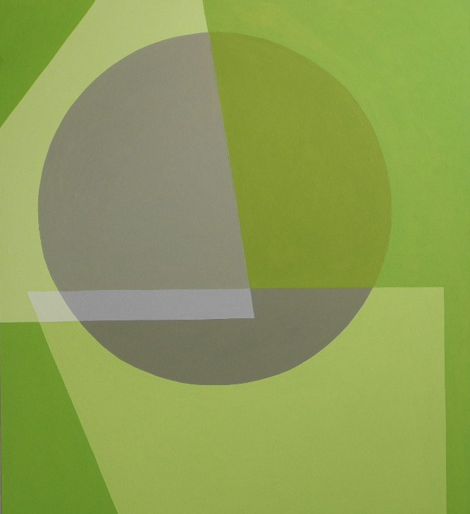 Green Circle - oil on canvas - 100cm x 90cm