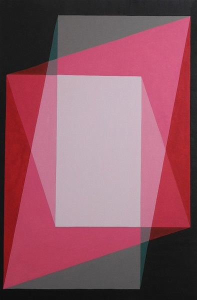 Red and Pink - oil on canvas - 120cm x 80cm - (horizontal or vertical) - Escritorio Rosa Barbosa